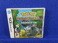 ds POKEMON MYSTERY DUNGEON Explorers Of Time Lite DSi 3DS PAL UK REGION FREE