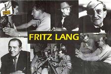 Affiche 80x120cm FRITZ LANG  (1919 - 1960) Retrospective TBE