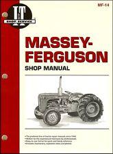 Massey-Ferguson Tractor Repair Manual TO35 F40 MH50 MHF202 MF35 MF50 MF202 MF204