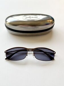 Ray Ban RB3177 Elegance Brown Fashion Sunglasses W New Blue Grey Lenses