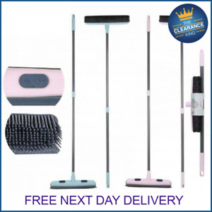 RUBBER BROOM BRUSH PET HAIR REMOVER RUBBER BRISTLE CARPET CLEANING BROOM