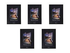 """5 MOVIE POSTER FRAMES 27"""" x 40"""" Basic Black Poster Frames with Slip On Edges"""