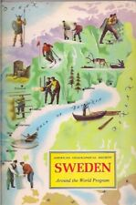 American Geographical Society-SWEDEN-around the world program-1970.