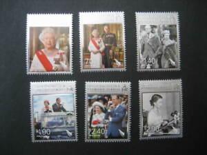 NEW ZEALAND NHM SET-2012 QUEEN'S DIAMOND JUBILEE SG 3356/61