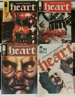 Heart MMA 1 2 3 4 Complete Set Series Run Lot 1-4 VF/NM