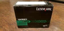 Brand New Genuine OEM Lexmark 12A7632 High Yield Print Cartridge T630 X630 T632