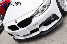 BMW F32 F33 F36 4 SERIES M TECH M SPORT PACKAGE CARBON FRONT LIP SPOILER E STYLE
