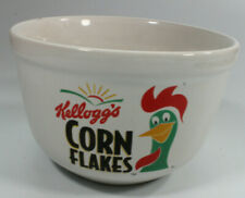 Vintage Cornelius Kellogs Rooster Corn Flakes Cereal Bowl year 1999 - Preowned