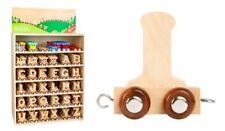 Diverse Lettera in legno Vagone Trenino per Bambini stanzetta I