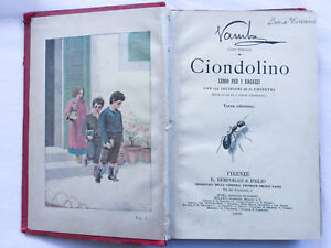 Ciondolino. Vamba (Luigi Bertelli) Bemporad 1900