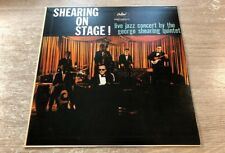 LP The George Shearing Quintet – Shearing On Stage ! Capitol INSERT JAPAN VINYL