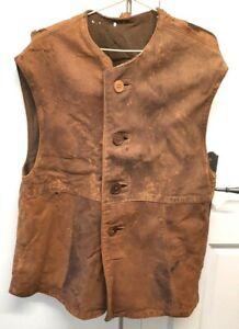 Leather Jerkin WW2 (Original)