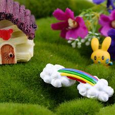 Mini Rainbow Bridge Miniature Garden Miniature Deco Micro Landscape Accessory IO