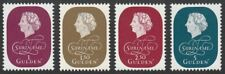 Suriname, 1959 Queen Juliana. SG 453-6 Unmounted Mint MNH
