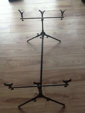 Carp fishing rod pod with cross bars and 3 droppers bargain price up to Xmas onl