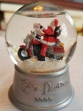 2006 Harley Davidson Christmas Ornament Snow Ball Globe