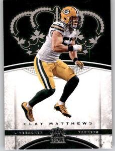 2017 Preferred Crown Royale Clay Matthews NFL PWE Base Card Packers #18
