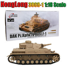 HengLong 3858-1 1:16 Simulation German PANZER-IV F Type Medium Assist RC Tank