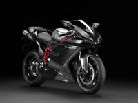 Verkleidung Lacksatz Bodywork Verkleidungssatz Ducati 848 1098 07-11 Schwarz