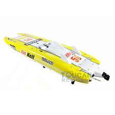 Fiber Glass Catamaran Gas Power G30E RC Racing Boat 30CC Engine Water Cooling sy