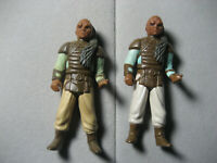 Vintage Star Wars Weequay Skiff Guard 1983 Action Figure Lot of 2