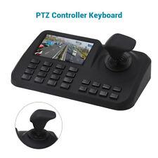 PTZ Keyboard Controller Joystick Network CCTV Pan Tilt For IP Camera LCD Display