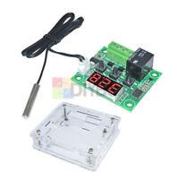 W1209 Digital DC 12V Thermostat Temperature Controller Switch Sensor Module+Case