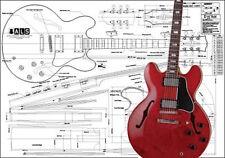 Gibson ES-355® Hollow Body Guitar Plan