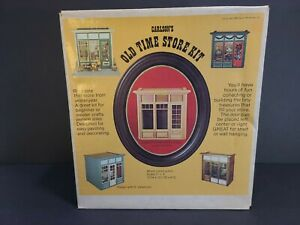 Old Time Store Kit, Carlson's Miniature 1:1 scale, Old new stock, never opened