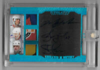 2019-20 Messier - Kovalev - Larmer Leaf Superlative Engraved Auto Patch 4/6 - NY