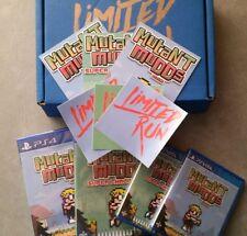 Mutant Mudds Deluxe + Super Challenge Bundle Sony PS Vita PS4 BRAND NEW! FREE SH