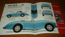 ★★1953 ALLARD K3 SPEC SHEET BROCHURE PHOTO INFO 53 52 54 v8 K-3★★