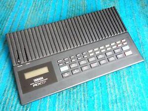 Yamaha RX17 Digital Rhythm Programmer / Drum Machine  w/ AC Adapter - F149