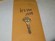 Kawasaki KZ400 1978 nos Cut Ignition Key #N15  p.n 27008-1003-15
