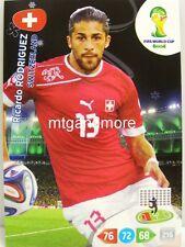 Adrenalyn XL - Ricardo Rodriguez - Schweiz - Fifa World Cup Brazil 2014 WM