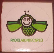 """Adesivi Anni ' 80 """" RADIO MONTECARLO  """""""