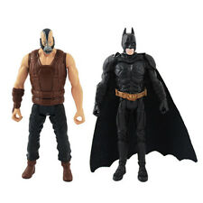 10cm The Dark Knight Rises ARKHAM CITY Batman & Bane Movable Action Figure Set