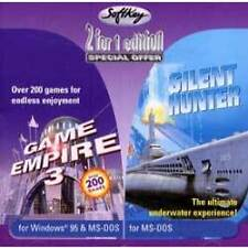 Silent Hunter (The Original) & Game Empire 3 - 2 PC Classics (NEW)