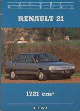 Livre : Renault 21 - 1721 cm3 - ETAI - Revue Automobile