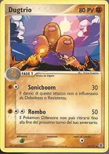 POKEMON - Dugtrio 22/112 - Ex Rosso Fuoco Verde Foglia - ITA