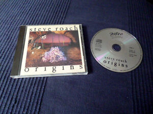 CD Steve Roach - Origins | Tribal New Age Ambient 1993 | Didgeridoo | Relaxation