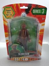 Doctor Dr Who Scarecrow Grey Black 5 inch action figure series 1 NEW SEALED RARE