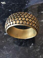 Fashion Bangle Brass Look