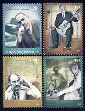 ARGENTINIEN 2788-2791 ** MUSIKER Volksmusik Klavier Gitarre Bandoneon Tango Tanz