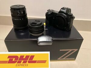 Nikon Z6 with lean 24-70  183 shatter count free DHL global shipping