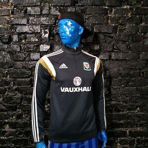 Wales Team Training Jacket Long Sleeve Adidas M32894 Polyester Mens Size M