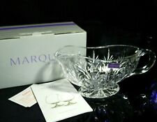 MARQUIS WATERFORD CRYSTAL CANTERBURY SAUCE BOAT MADE IN GERMANY BRAND NEW IN BOX