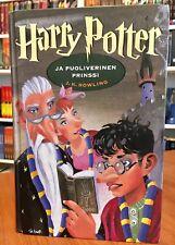 Rowling Finnish Harry Potter Ja Puoliverinen Prinssi