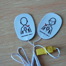 1 pair Child Training Pad Replacements Pad For Defibrillator XTF AED Trainer
