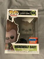 Werewolf Bart Simpsons Tree House of Horror Fall Con Exclusive Funko Pop! #1034